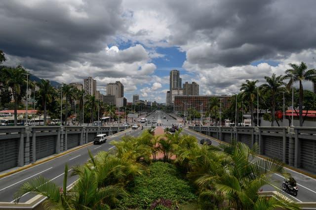 Vista de la Avenida Bolívar en Caracas