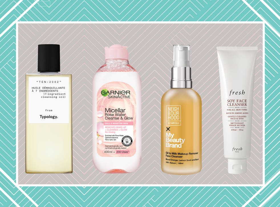 Choose from oils, balms, cleansers, wipes and micellar waters