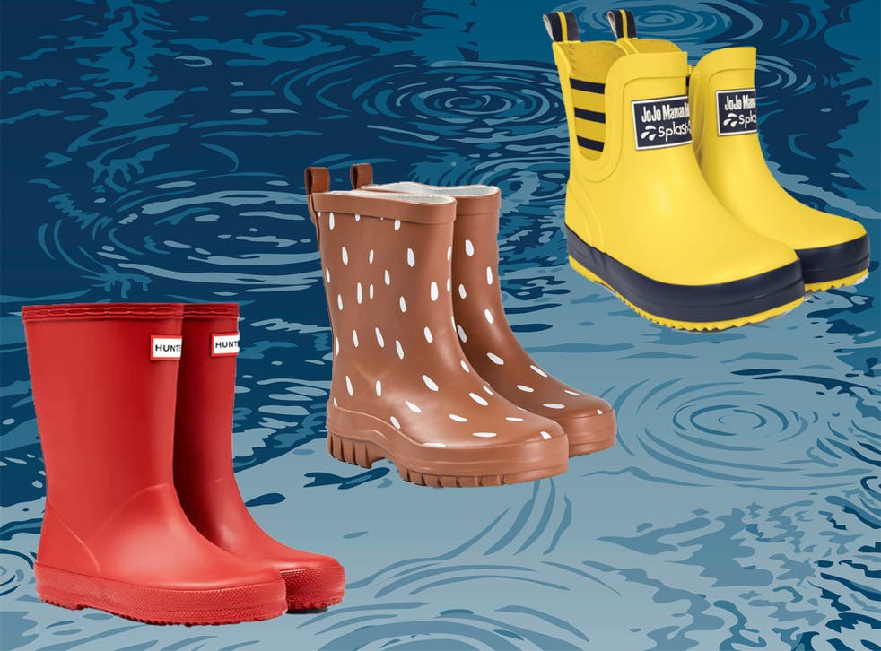 Rainboots are an essential part of any child's wardrobe