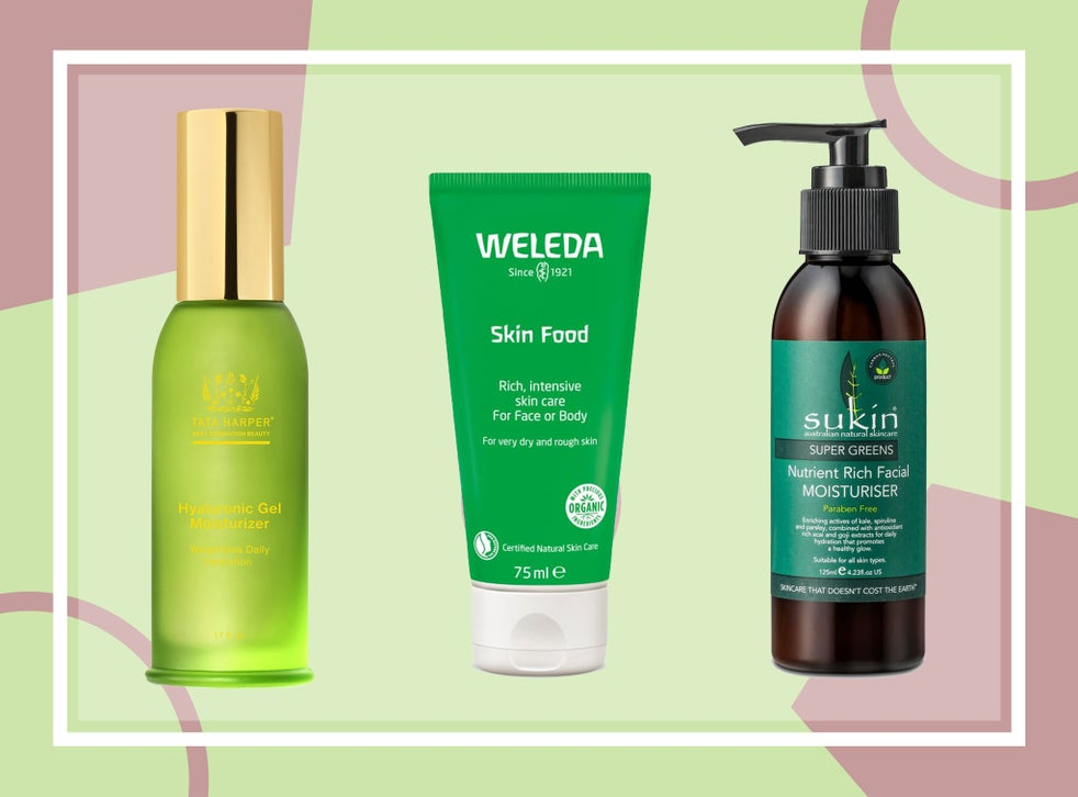 best organic face products