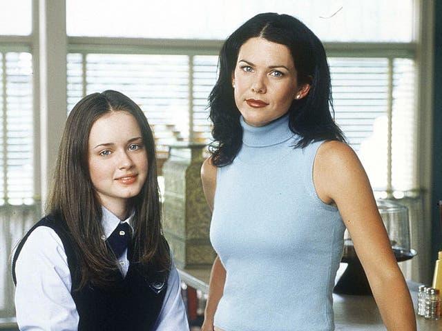 Alexis Bledel and Lauren Graham in 'Gilmore Girls'