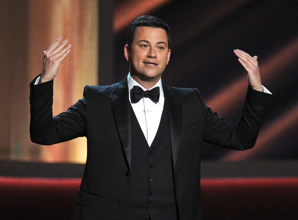 Jimmy Kimmel is hosting this year's virtual Emmys ceremony