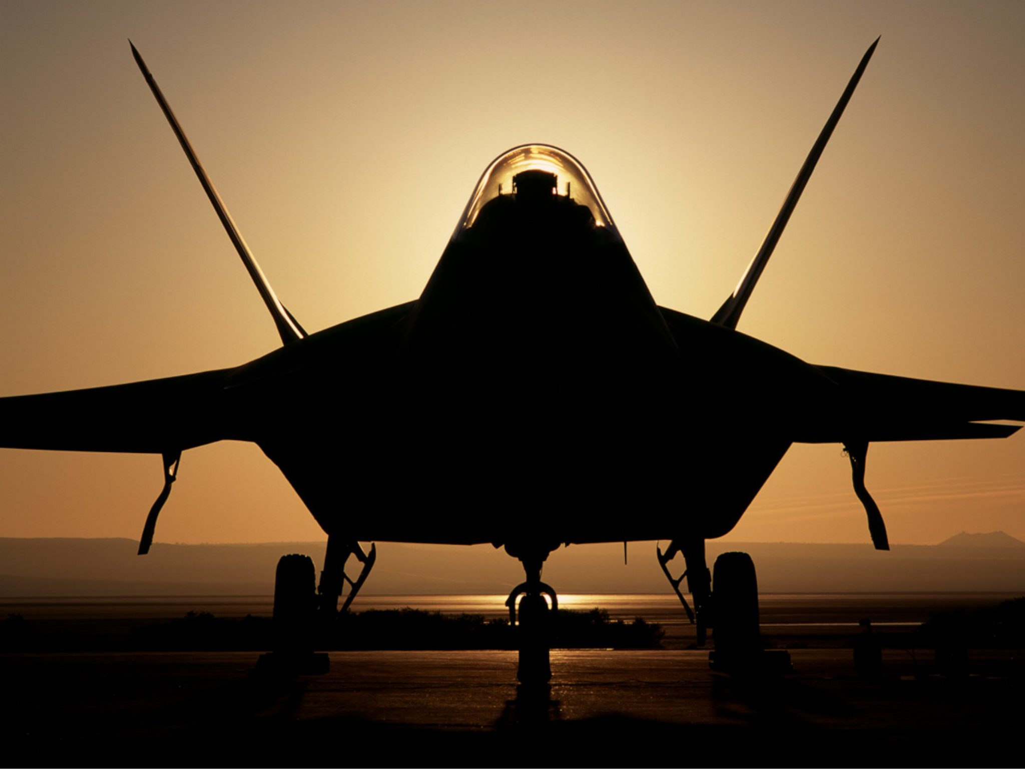 US air force secretly designed, built and flew a secret fighter jet all in  a year | The Independent