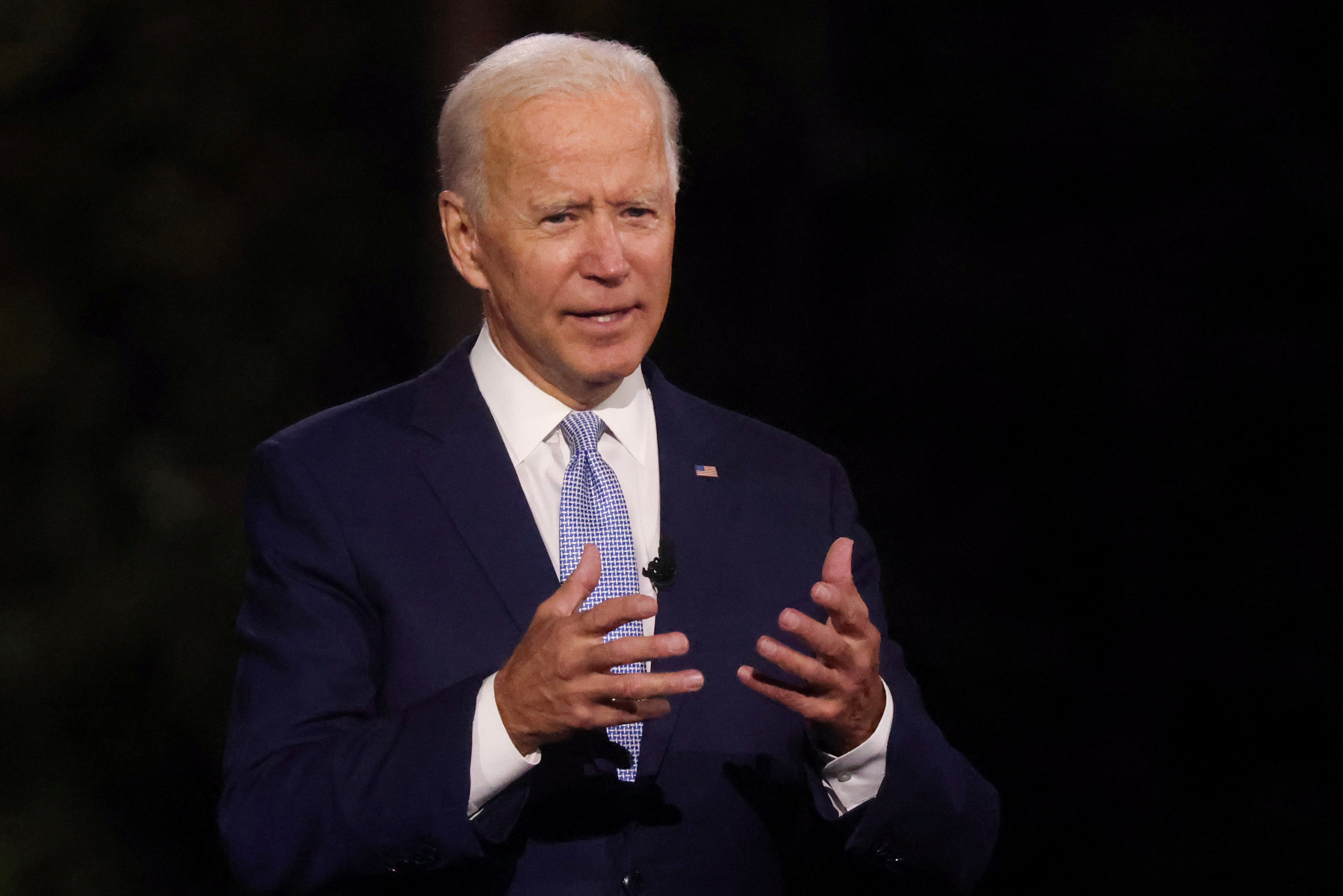 Biden news – live: Ex-VP swipes at Ivy League snobbery