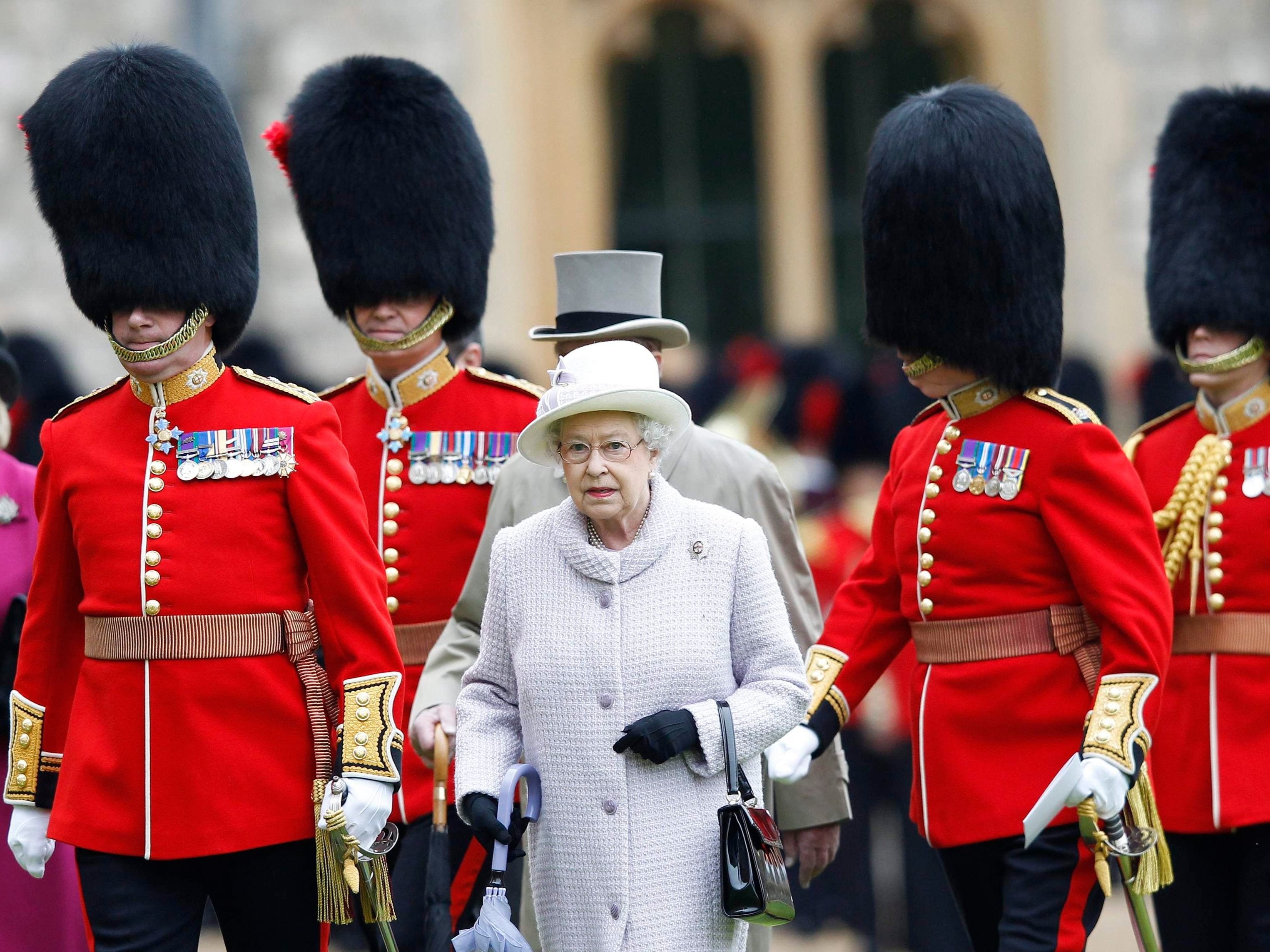 Will the Queen's Guard have to give up their bearskin hats?