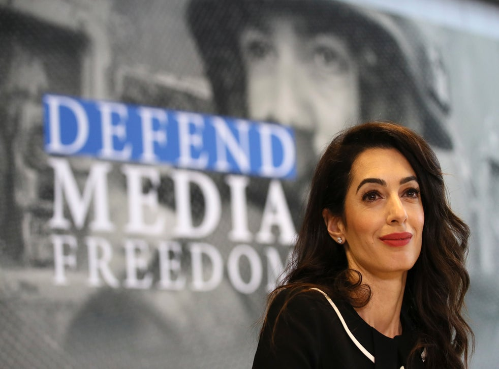 Anh Brexit Amal Clooney