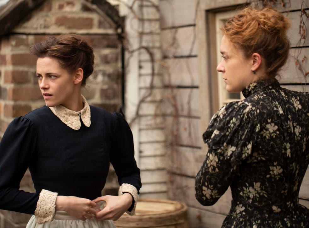 Kristen Stewart as Bridget Sullivan, Chloe Sevigny as Lizzie Borden  2018