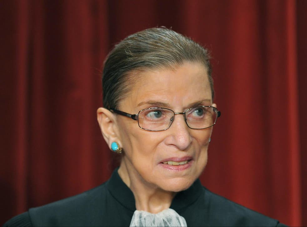 Ruth Bader Ginsburg died Friday from complications from cancer. She was 87