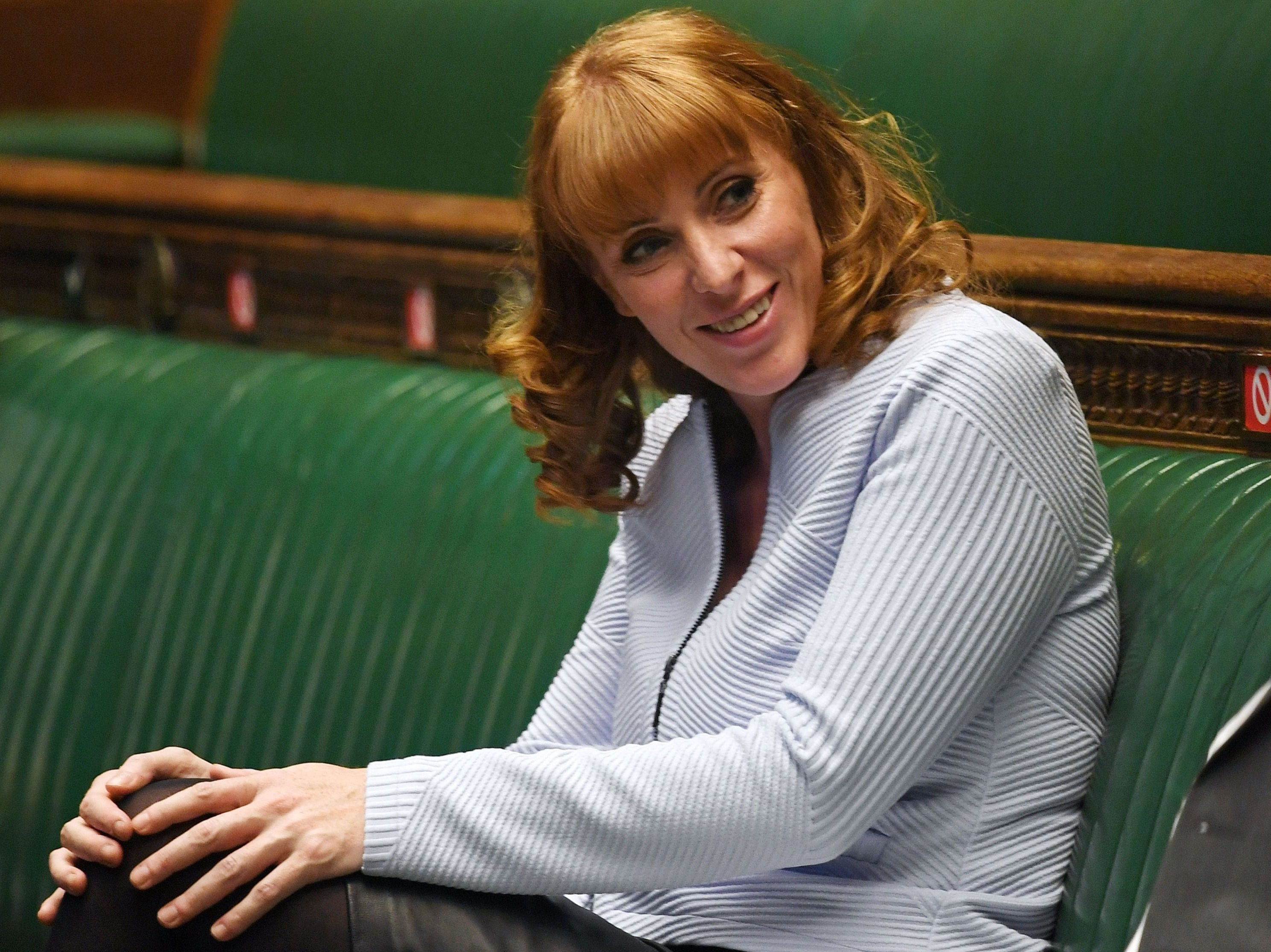 The rise and rise of Angela Rayner