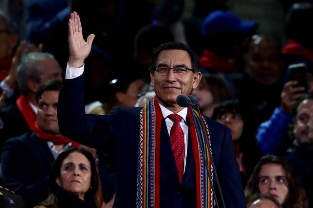 Presidente de Perú, Martin Vizcarra.