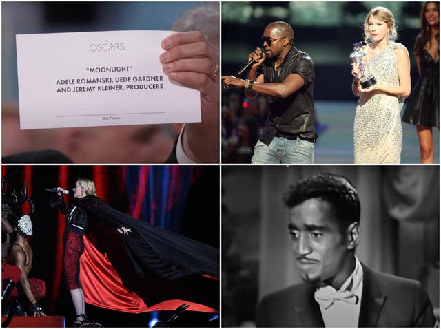 Some of the most excruciating award-show moments