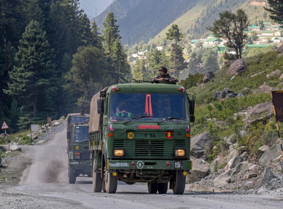 India y China en enfrentamiento militar.