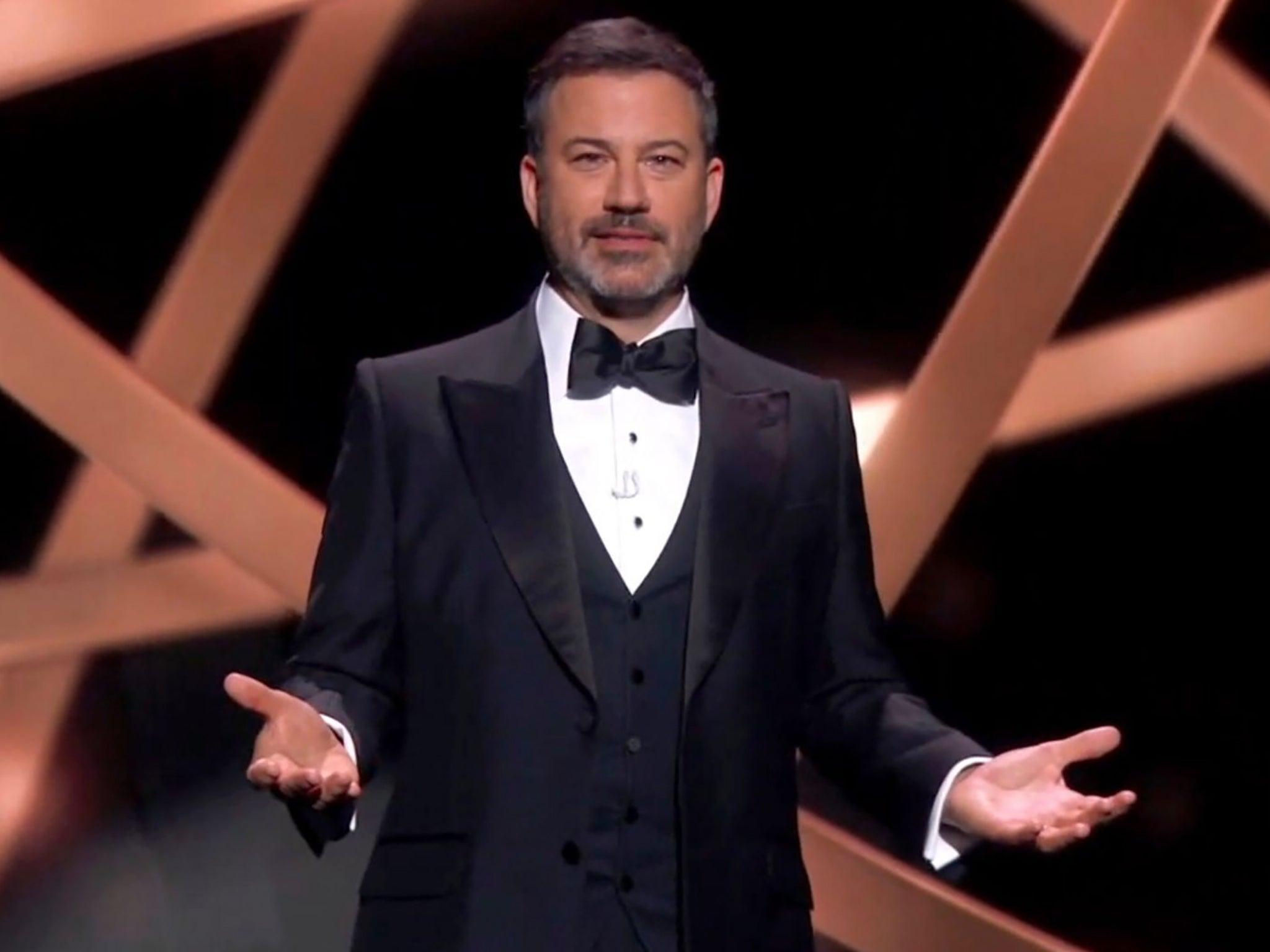 Jimmy Kimmel condemned for 'horrendous' John Oliver immigration joke at Emmys