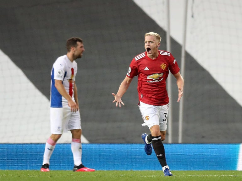 Donny van de Beek: 'I'm really disappointed, that was not good enough'
