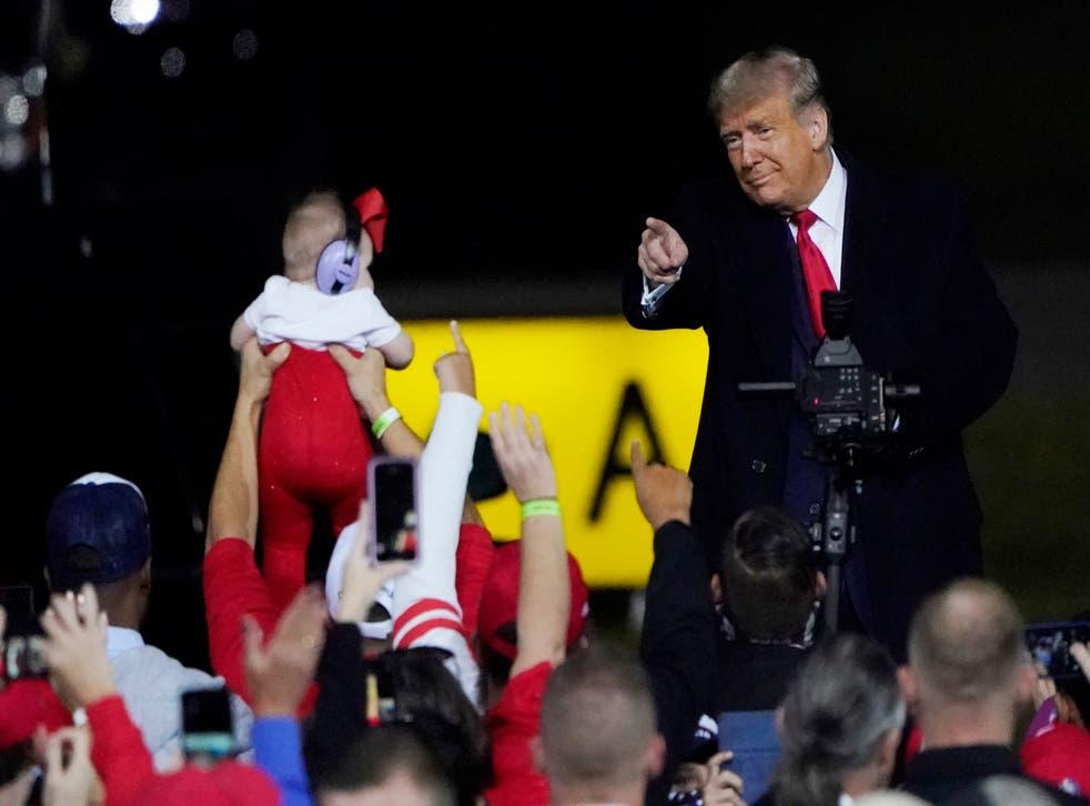 APTOPIX Elección 2020 Trump