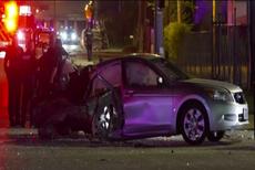 Houston: Dos pasajeras de Uber murieron tras ser partido a la mitad su vehículo durante un choque