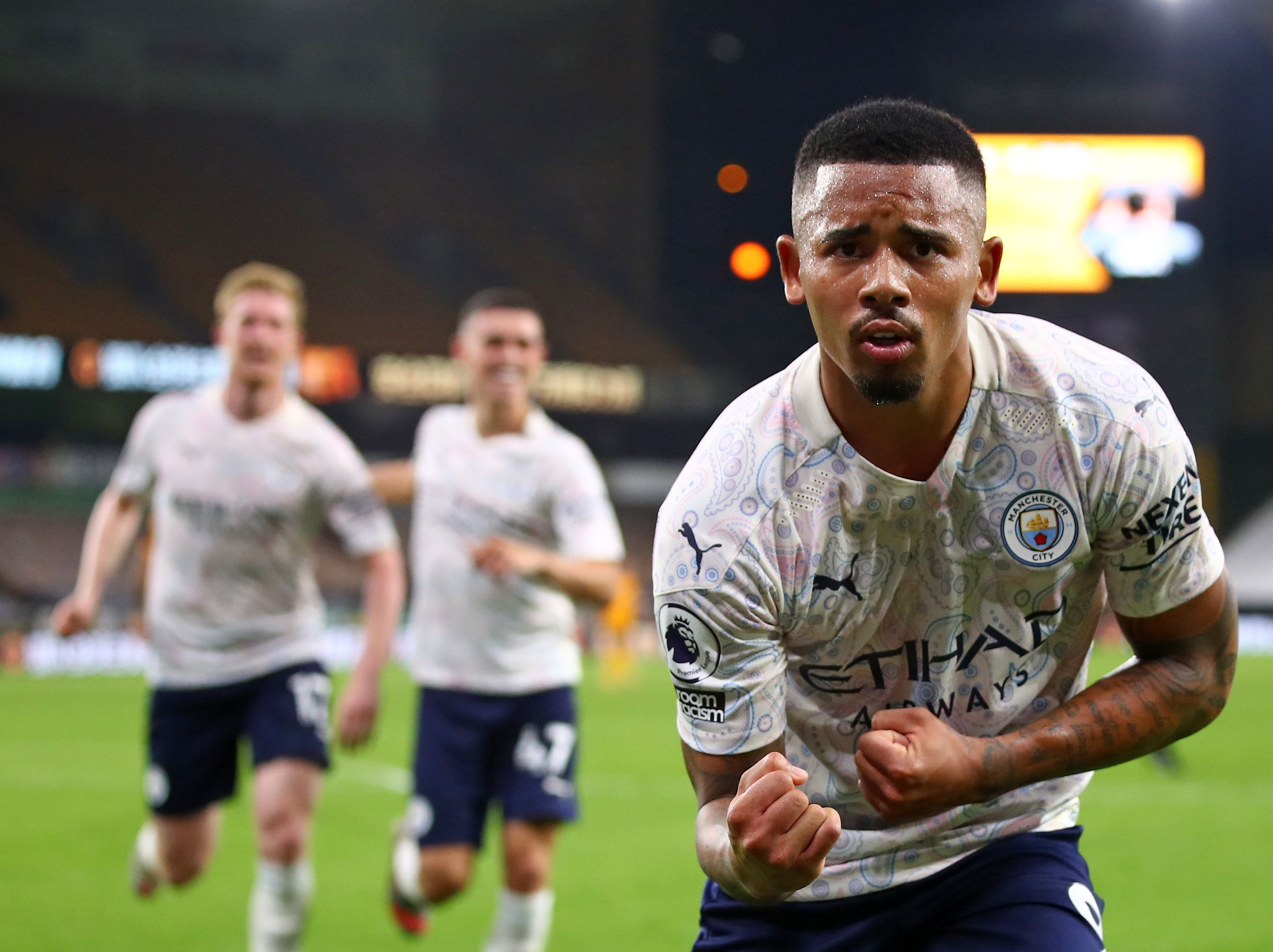 Wolves vs Man City result: Pep Guardiola's side pass litmus test as  attacking talents shine in Premier League return   The Independent