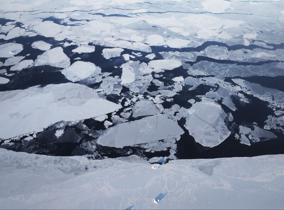 Computer models project the summer sea ice will regularly be below 1 million sq km later this century