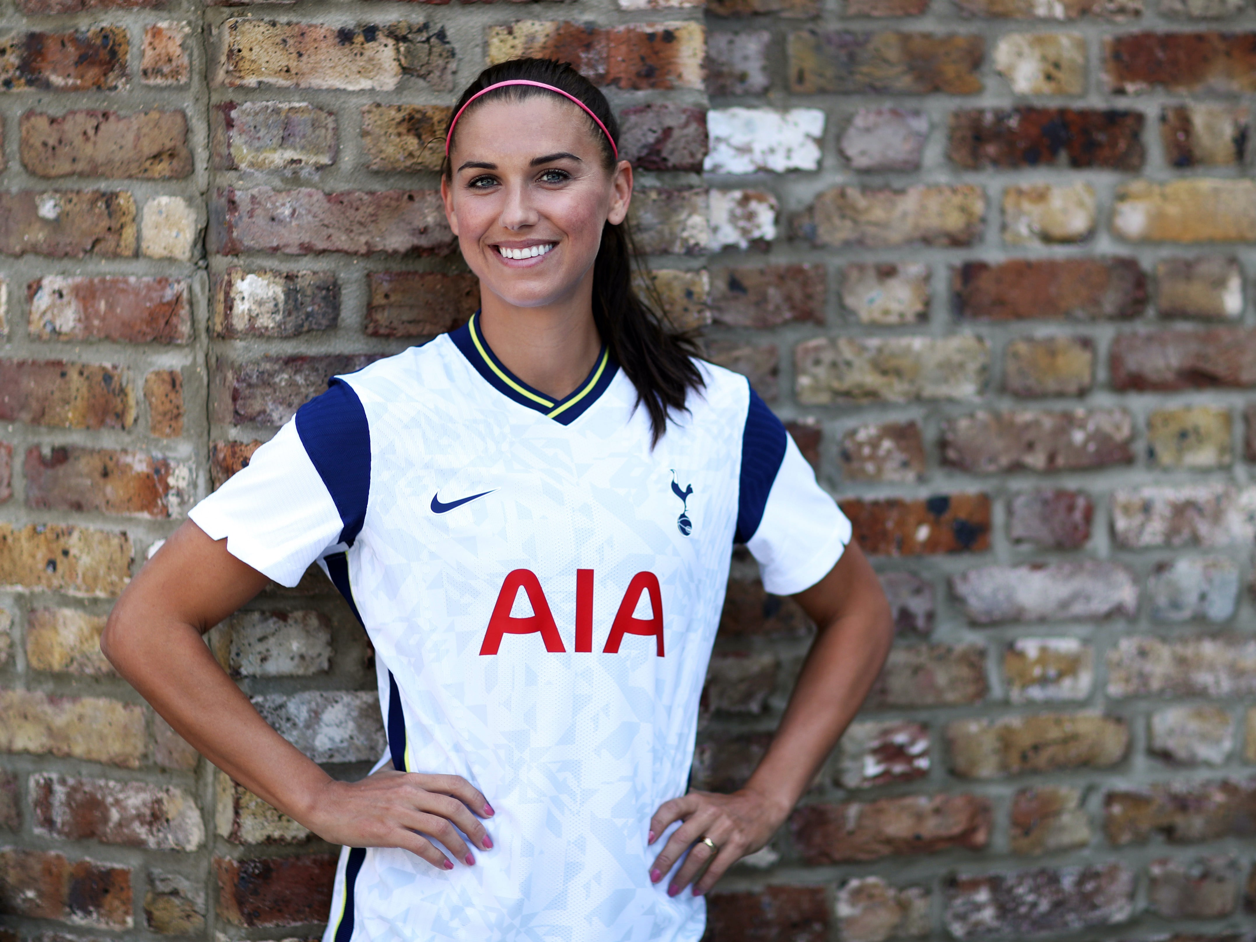 United States Striker Alex Morgan Ready To Seize Perfect Opportunity At Tottenham The Independent