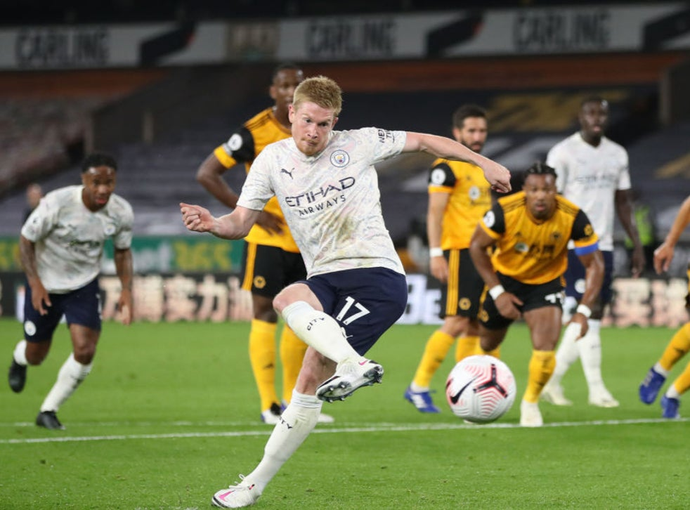 De Bruyne starred against Wolves