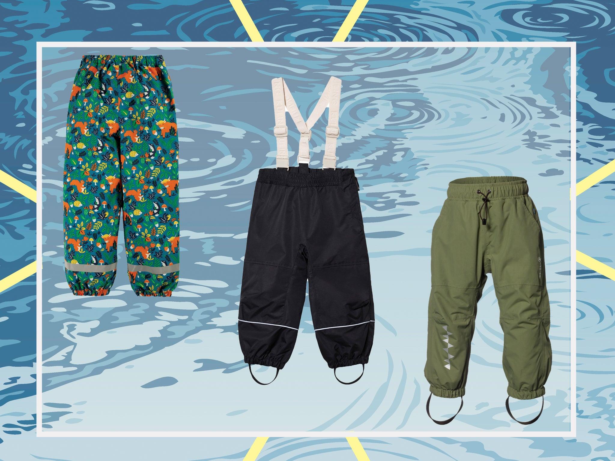 Children/'s waterproof trousers size 4-5