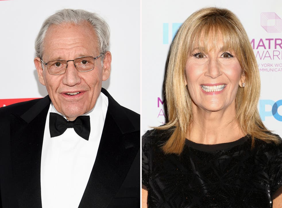 'Rage' author Bob Woodward said CNN reporter Jamie Gangel helped convince him to release audio tapes of his interviews with Donald Trump