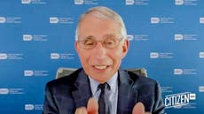 'Sobering and stunning': Dr Fauci warns against surging Covid cases as death toll reaches 200,000 and Trump remains silent