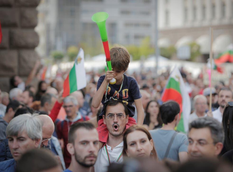 Bulgaria Protests