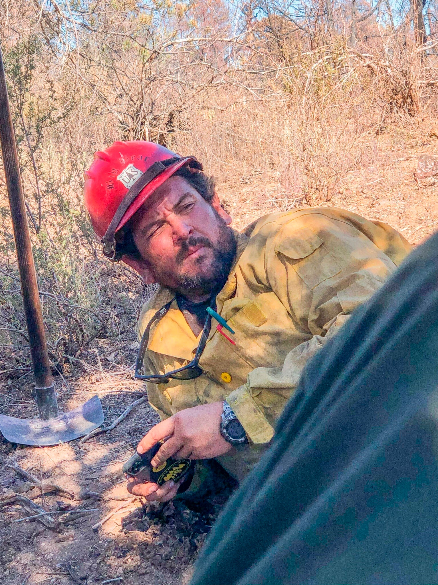 Firefighter who died in blaze was on elite Hotshot crew Firefighter wildfires Firefighter CREW CREW