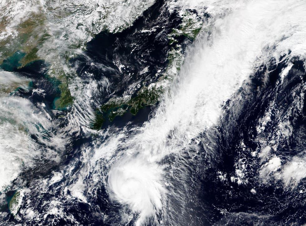 Asia Storm