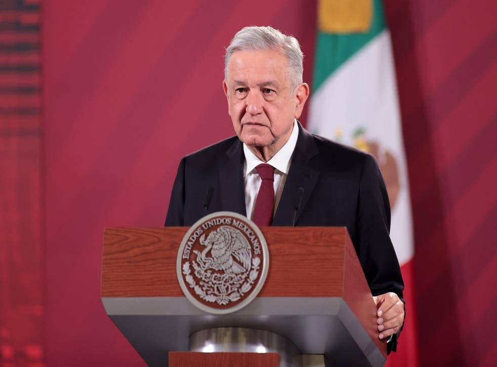 Andres Manuel Lopez Obrador, presidente de México.