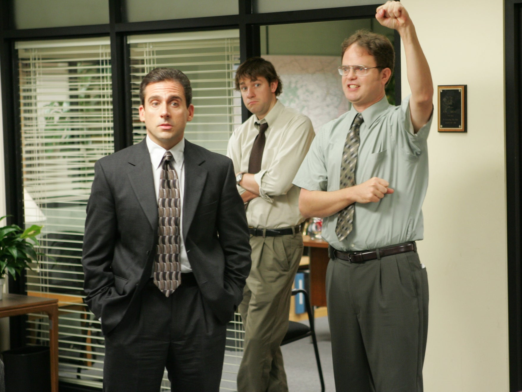 The Office US finale originally featured a Matrix parody