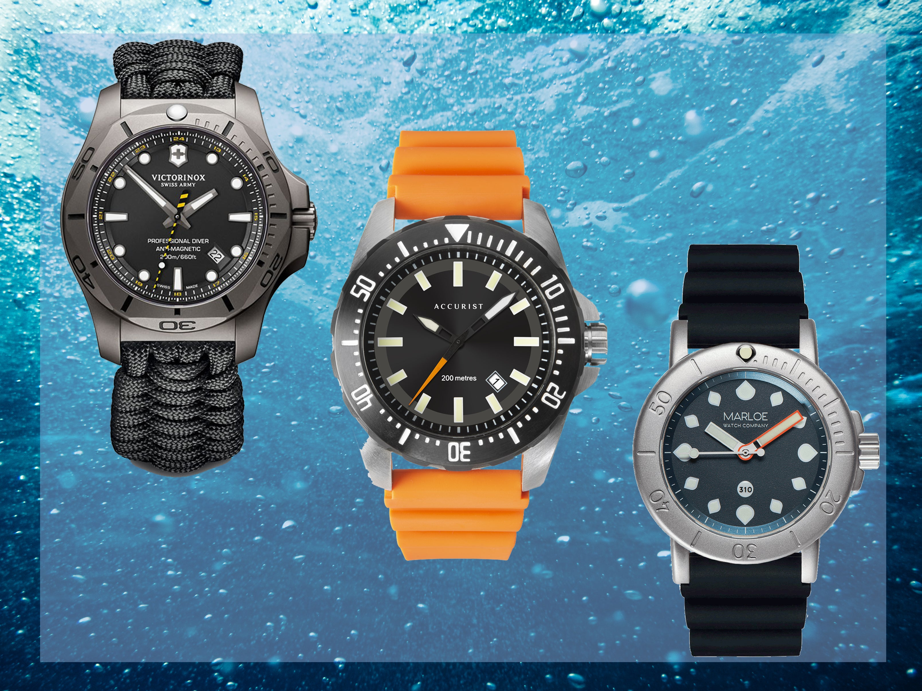Best waterproof watch 2020 for swimming, surfing and diving
