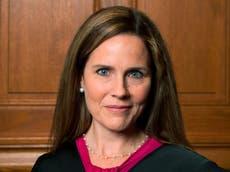 Republicanos aseguran que la nominación de Amy Barrett por Trump para la Corte Suprema es un hecho