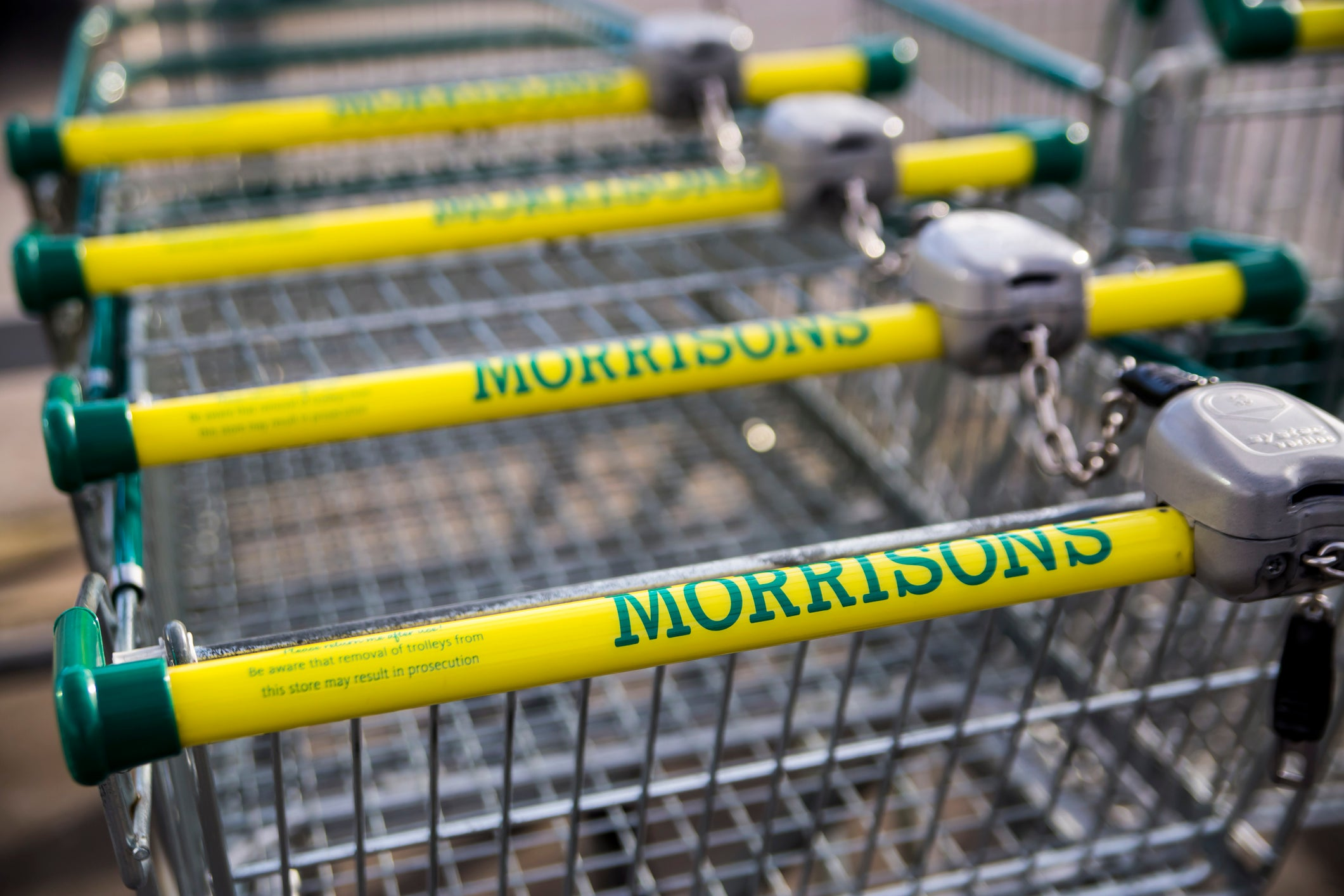 Morrisons is rationing items amid fears of panic buying