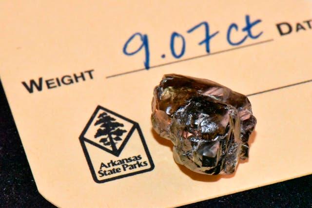 Arkansas Diamond Find