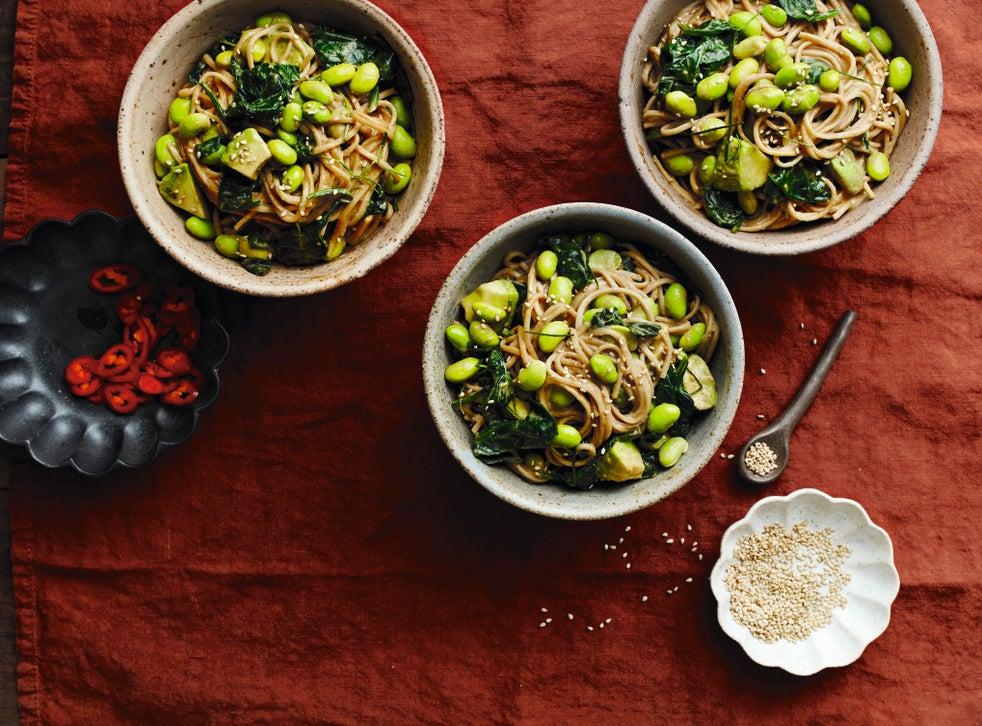 a nice satay udon dish