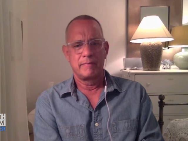 Tom Hanks habla en 'In Depth' sobre el trauma infantil de su padre