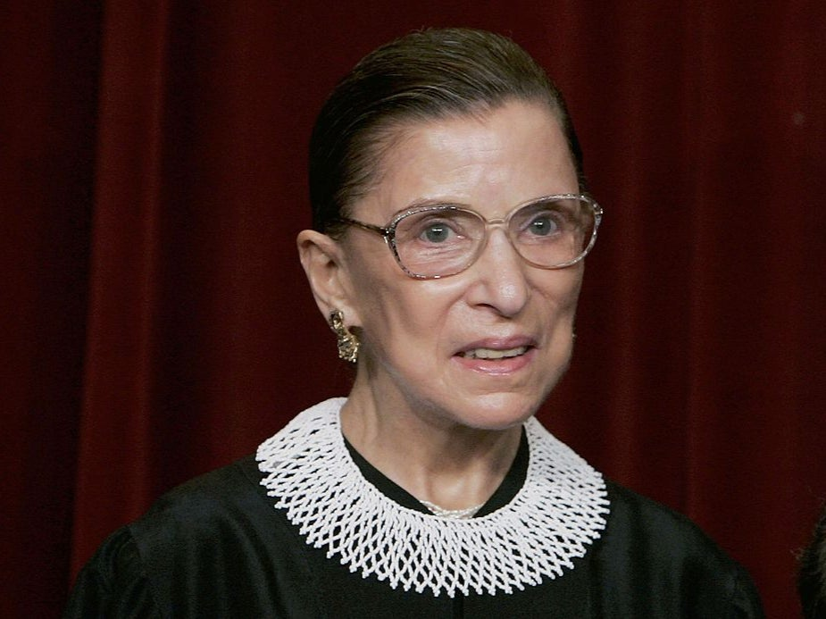 Ruth Bader Ginsburg's collars were her weapon