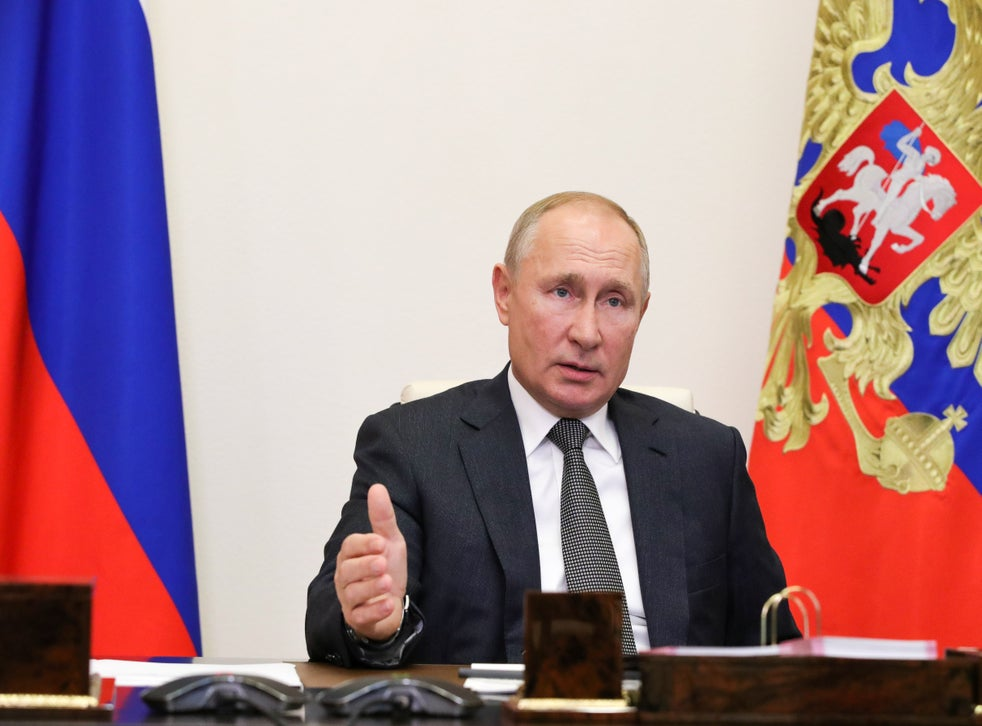 Putin Calls For New Non Aggression Pact On Cyberwarfare The Independent