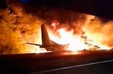 Accidente aéreo en Ucrania deja 22 muertos