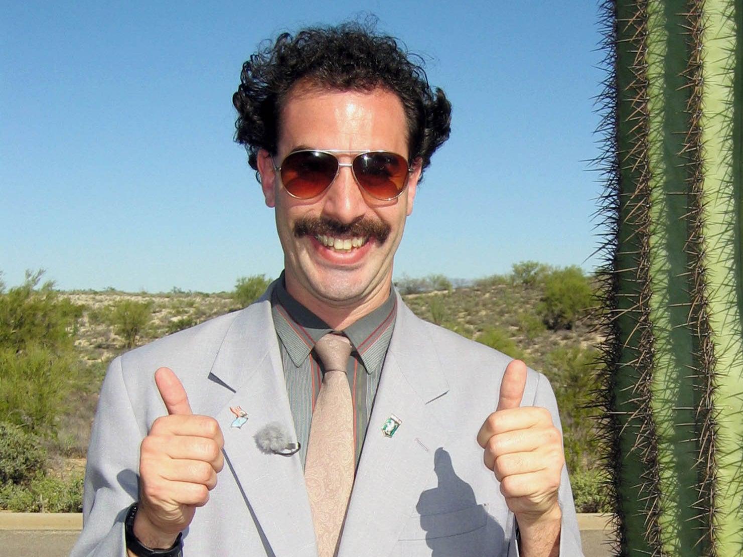 Sacha Baron Cohen's Borat sequel has an obscenely long working title