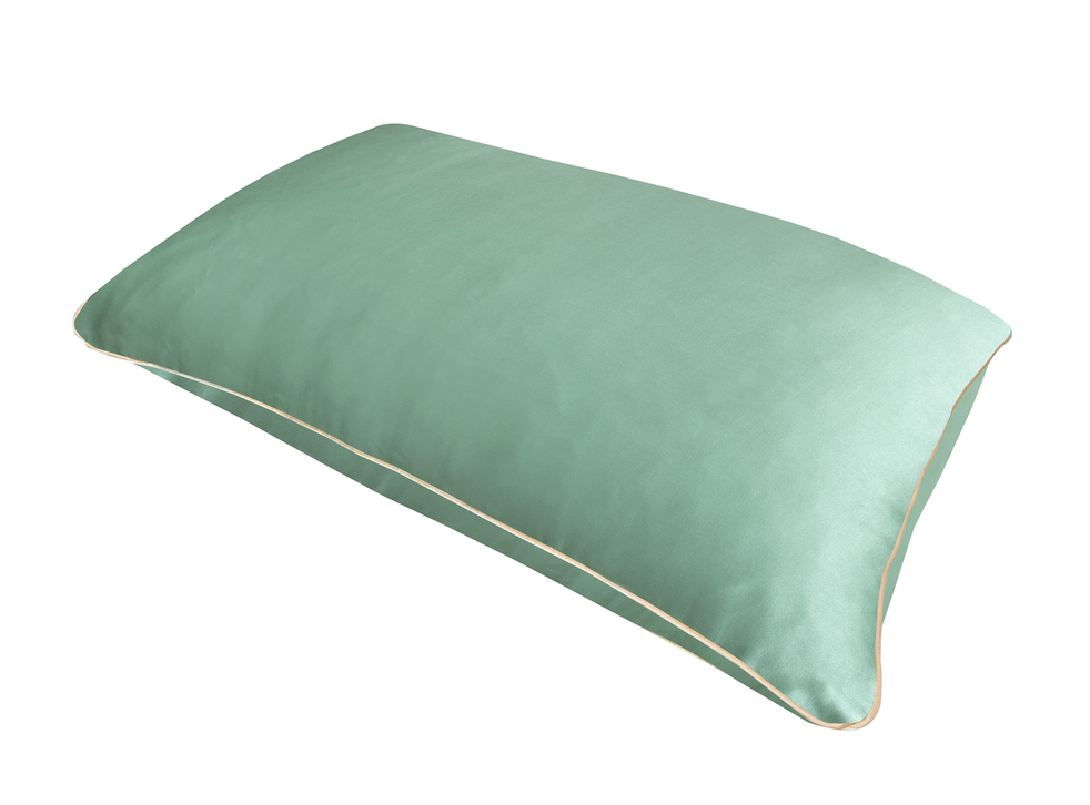 Pillow With A Pocket Green Shadows