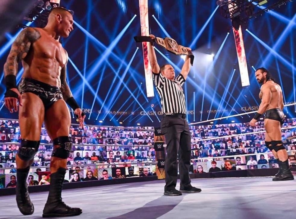 Drew McIntyre battles rival Randy Orton