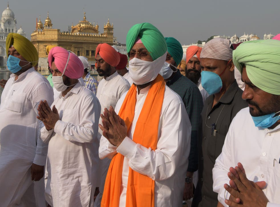 Pratap Singh Bajwa, miembro del parlamento de India.