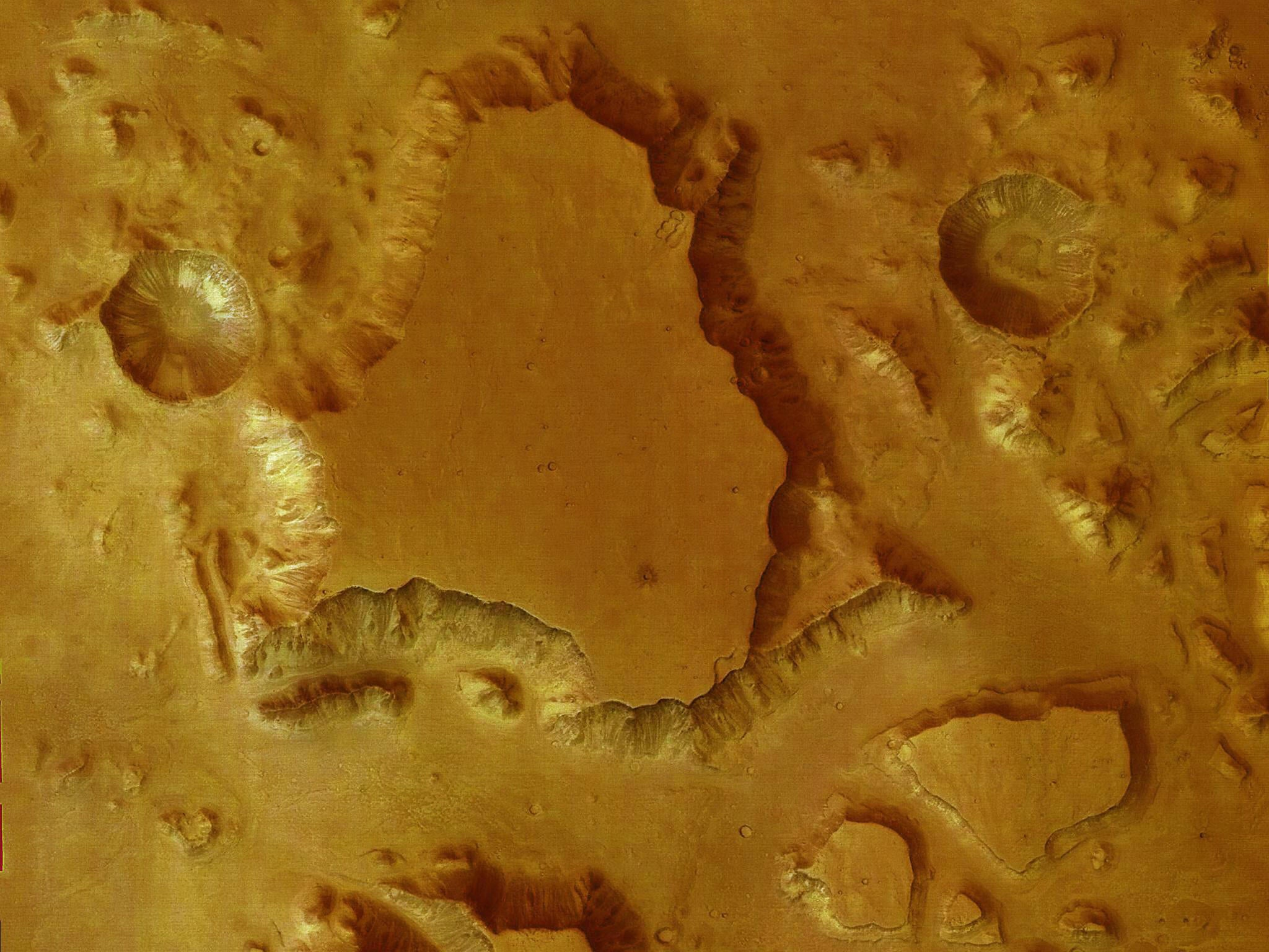 Multiple 'Water Bodies' Found Under Surface of Mars