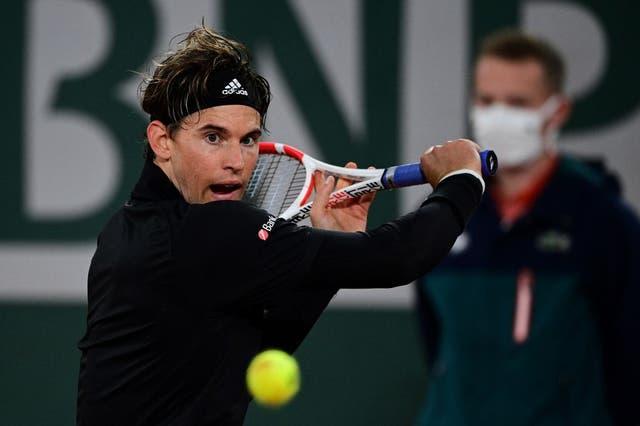 El austriaco no tuvo problemas en su debut en Roland Garros.