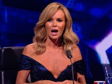 Amanda Holden responde a las quejas por su escote en Britain's Got Talent