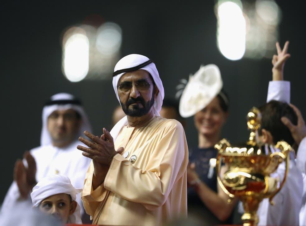Primer ministro y vicepresidente de los Emiratos Árabes Unidos, Mohammed bin Rashid Al Maktoum