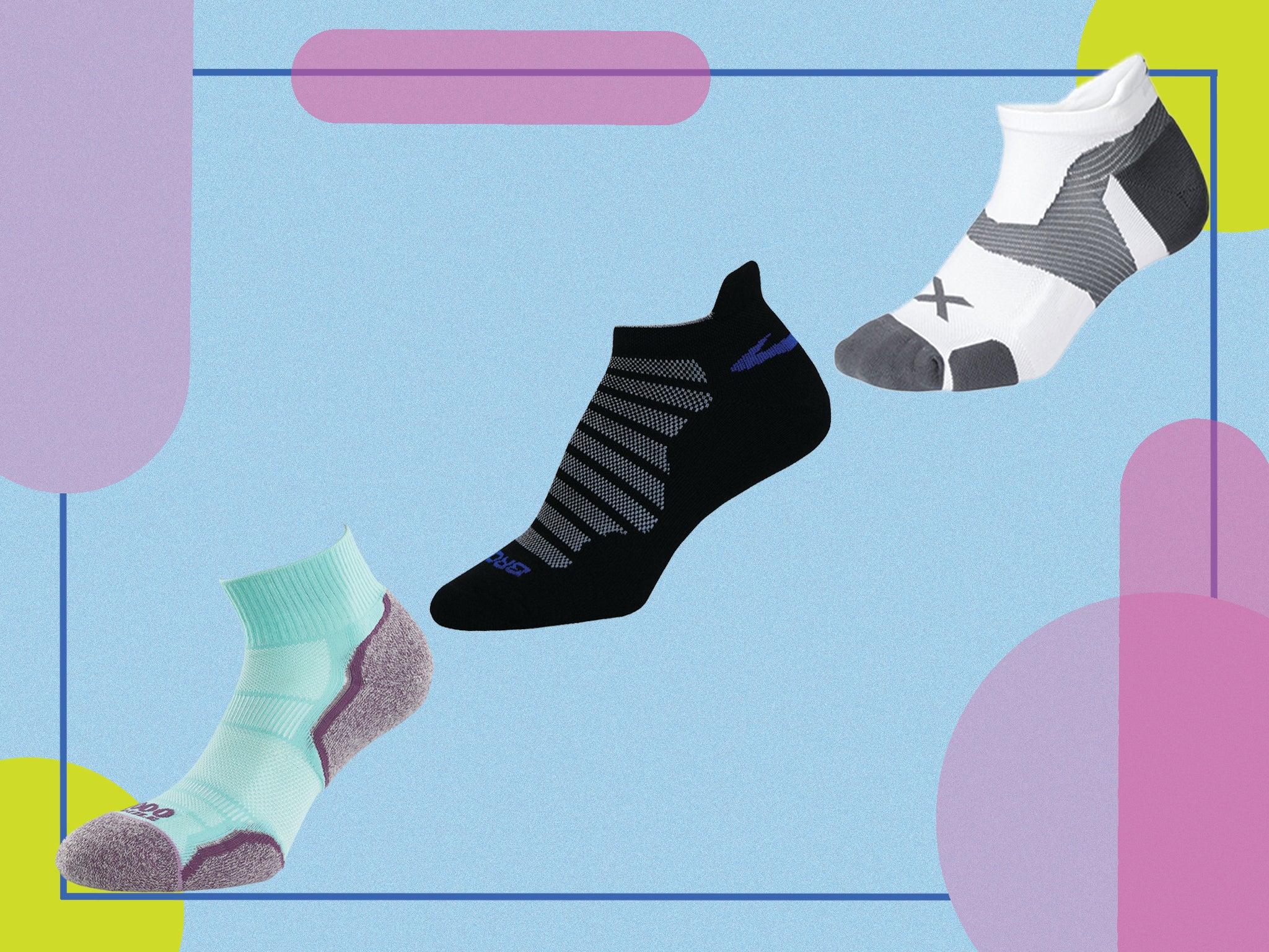 3 x Orange//Pink//Blue Socks Shoe Liners For Ladies ICE CREAMS WALL/'S
